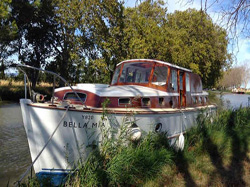 bateau sur le Canal du Midi